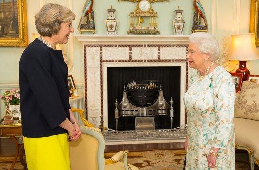 Theresa May ist britische Premierministerin