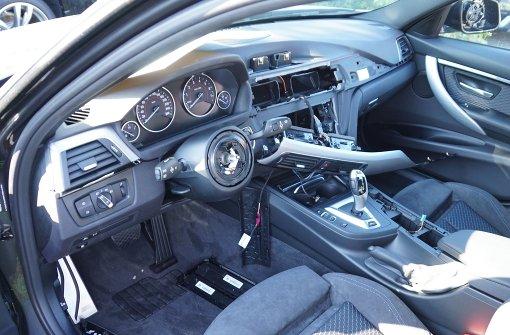 BMW-Lenkrad im Visier der Autoknacker