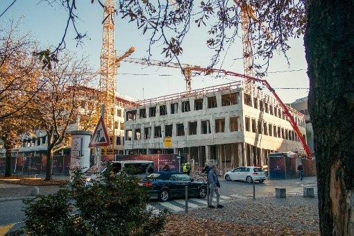 Das Dorotheen-Quartier nimmt Formen an