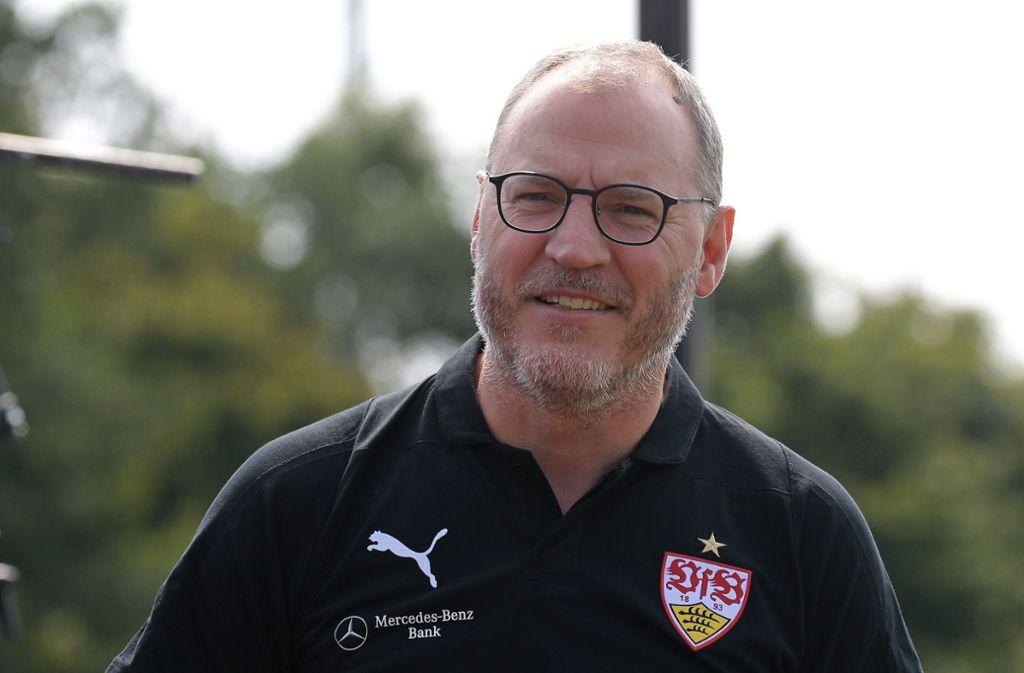 Joachim Cast ist beim VfB von seinen Aufgaben freigestellt. Foto: Baumann