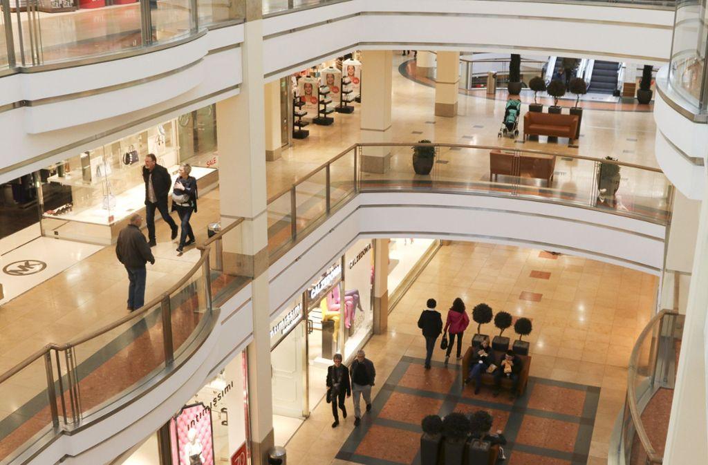 Das Breuningerland in Ludwigsburg darf diesen Sonntag die Läden öffnen – ein letztes Mal. Foto: factum/Granville