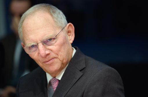 Schäuble sieht die Hauptschuld beim DFB