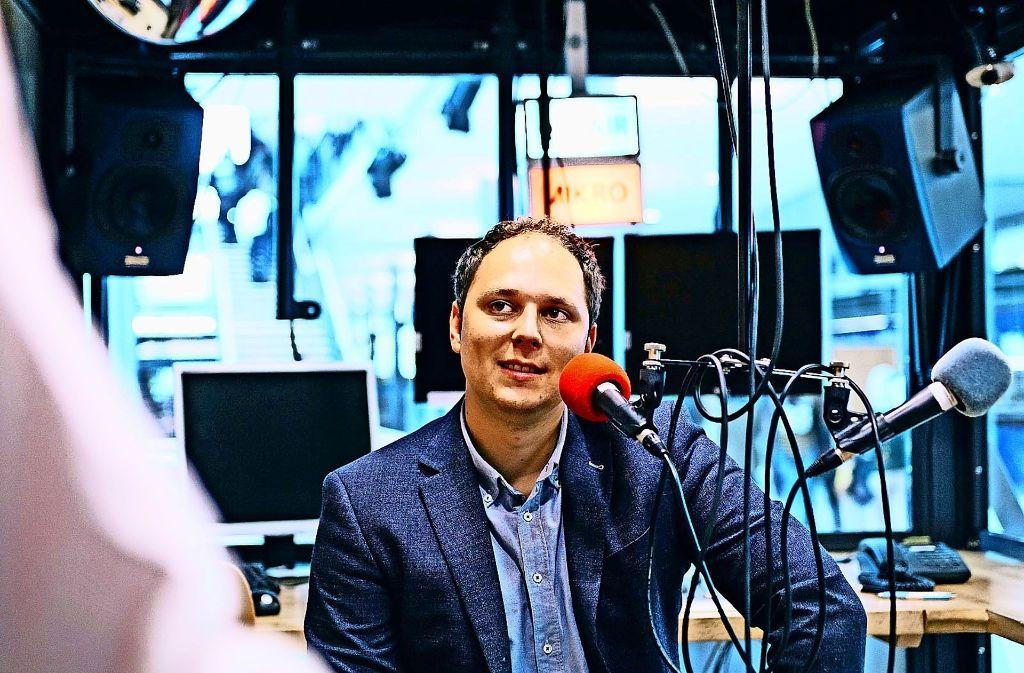 Wird in der Jury sitzen:  Stuggi.TV-Chef David Rau Foto: Lg/Verena Ecker