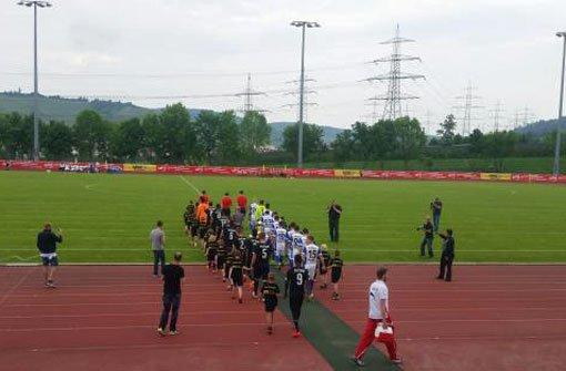 Kickers gegen VfB Stuttgart
