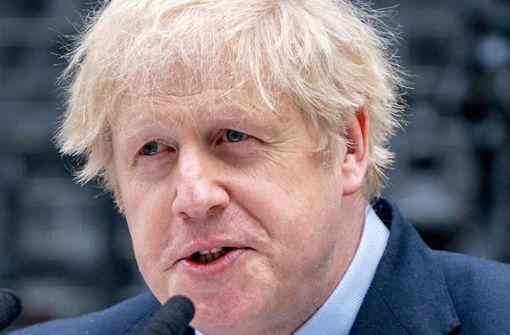 Boris Johnson: Ärzte bereiteten sich auf die Verkündung meines Todes vor