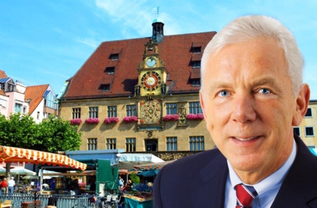 Harry Mergel tritt für die SPD an. Foto: dpa (2), StZMontagen: Knauf