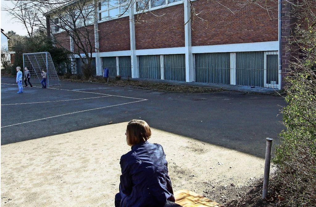 Kern des Konflikts: der Bolzplatz im Wohngebiet Galgenberg Foto: factum/Bach