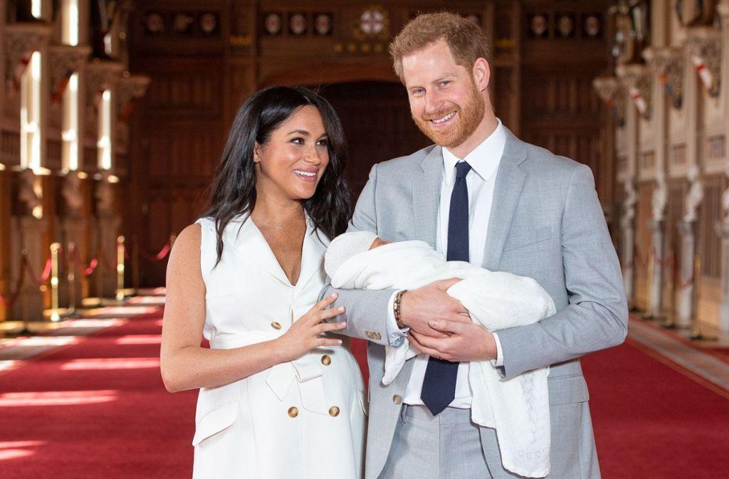 Der kleine royale Sprössling Archie, erster Sohn von Meghan und Harry, soll ohne königlichen Titel aufwachsen. Foto: Getty Images