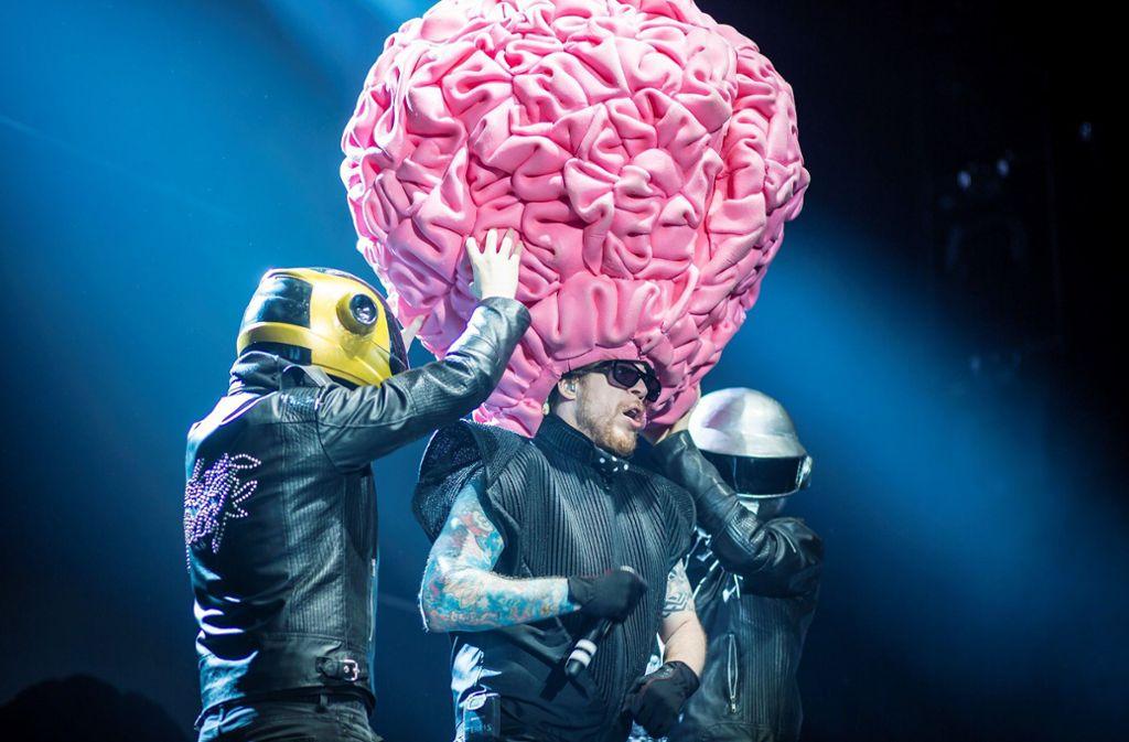 Auch live neigt die Band zu kontroversen bis verstörenden Auftritten Foto: 7aktuell.de/
