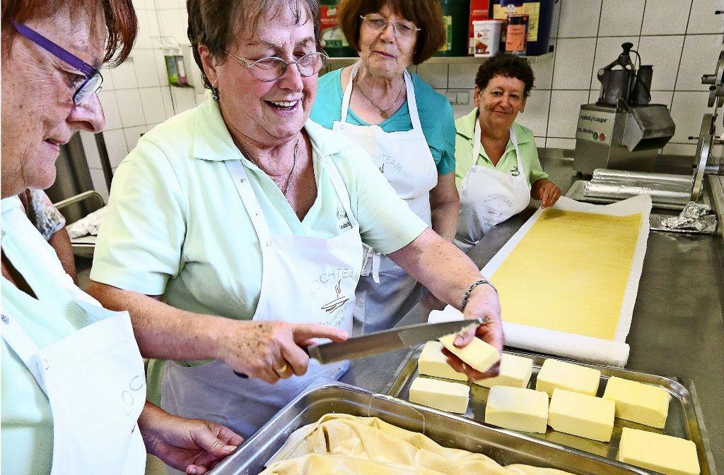 Ein bisschen Butter darauf und ab damit  in den Ofen. Foto: factum/Granville