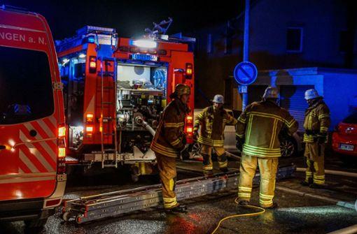 Mieter bei Wohnungsbrand verletzt