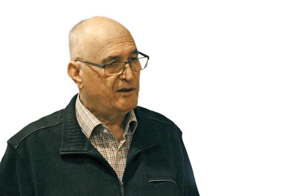 Ulrich Strauß hat die Geschichte des Blosenbergs erforscht. Foto: Leiss