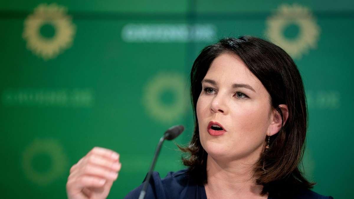 Baerbock bringt Parteiausschlussverfahren gegen Palmer ins Spiel