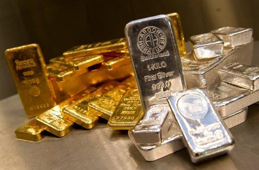 Silber steht noch stärker unter Druck als Gold