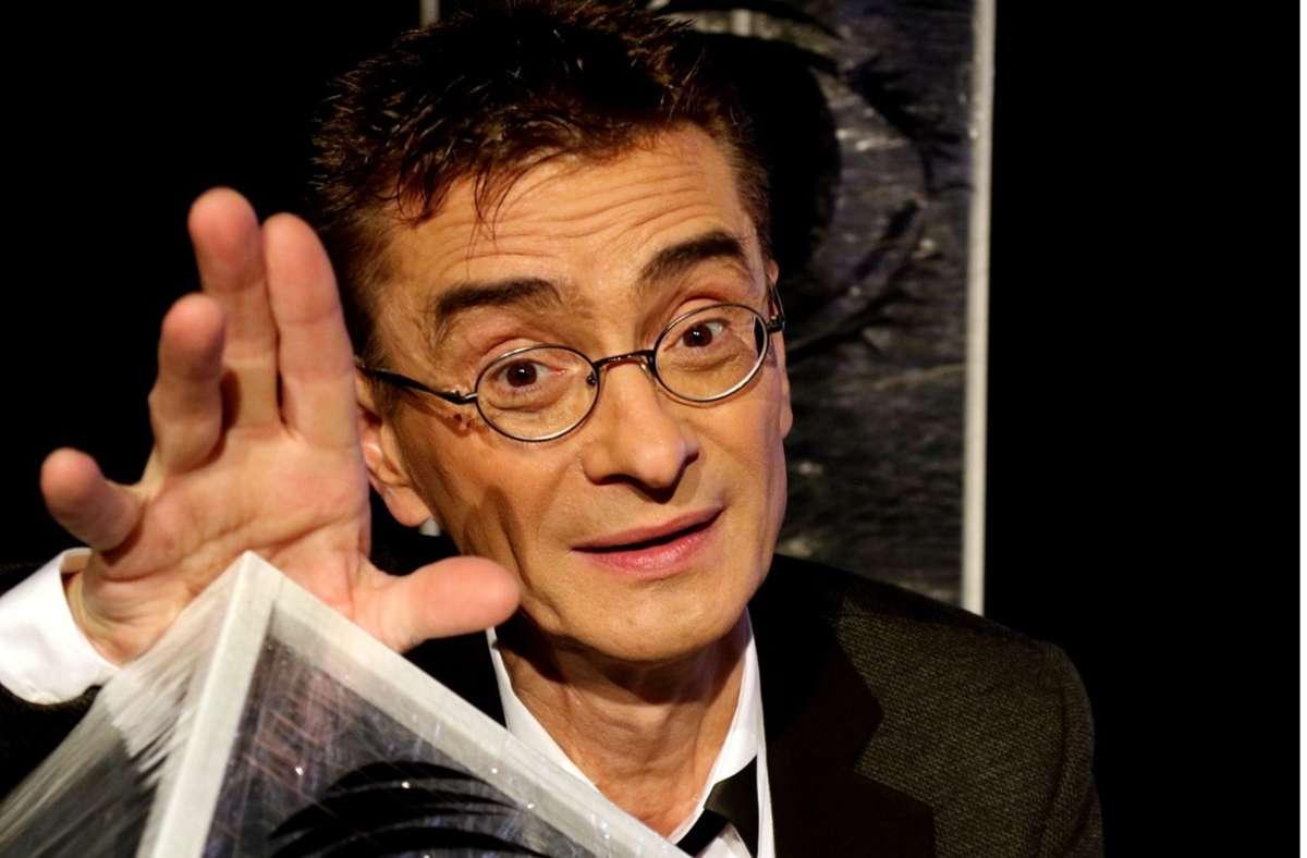 """Kabarettist Mathias Richling beklagt """"abgetragene Gestalten"""" bei der Bundestagswahl. Foto: dpa"""