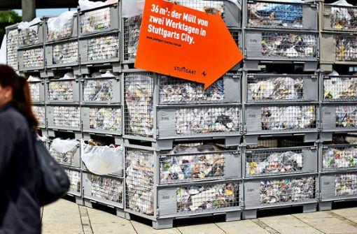 Stuttgart startet Sauberkeitsoffensive