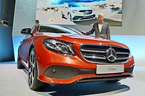 Daimler setzt auf die  E-Klasse