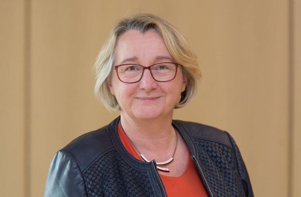 Wissenschaftsministerin Theresia Bauer will die Hochschulen finanziell besser stellen. Foto: picture alliance / Silas Stein/d/Silas Stein