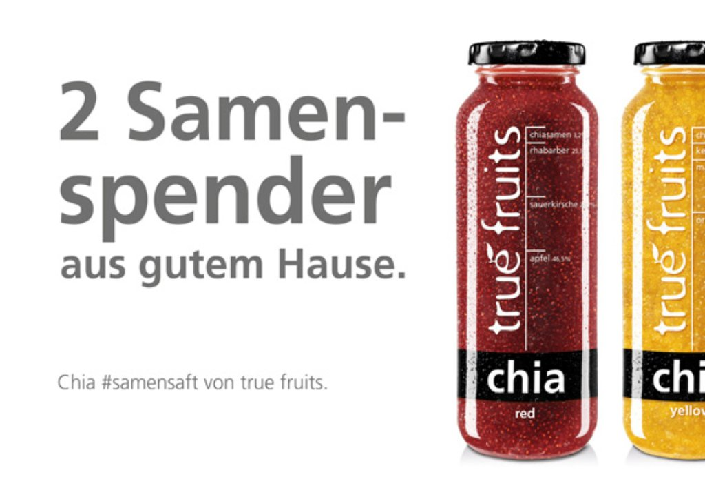 Lustig oder schmuddelig? Die neue Werbekampagne von True Fruits. Foto: True Fruits