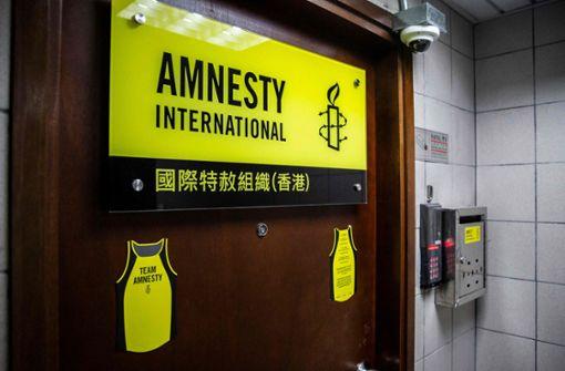 Amnesty gibt Büros in Hongkong auf