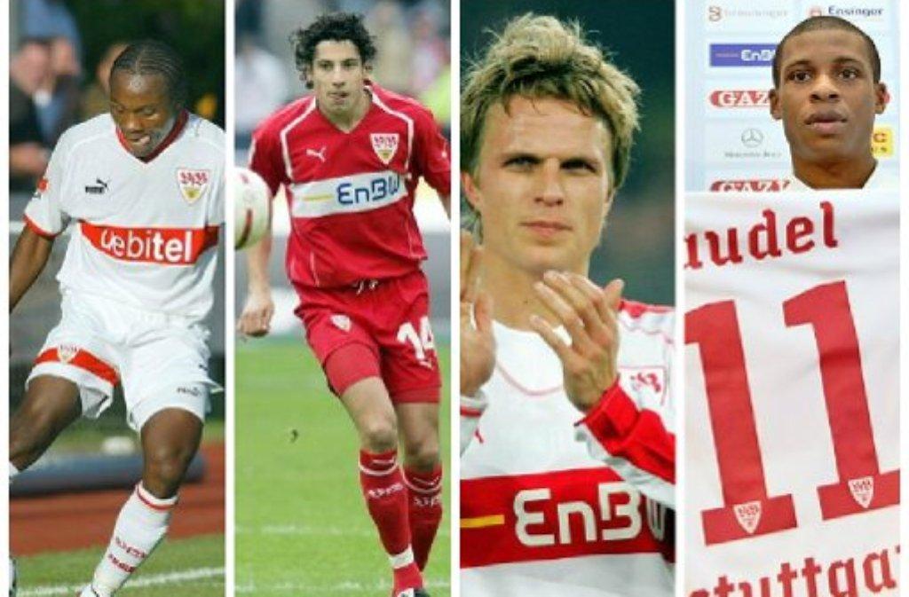 Der VfB Stuttgart und seine Fehleinkäufe der vergangenen Jahre.  Foto: Baumann/dpa