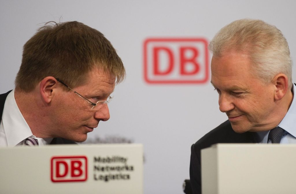 Sechs Wochen nach dem Rücktritt von Bahnchef Rüdiger Grube ist die Nachfolge geklärt: Finanzchef Richard Lutz wird neuer Bahn-Chef. Foto: AFP