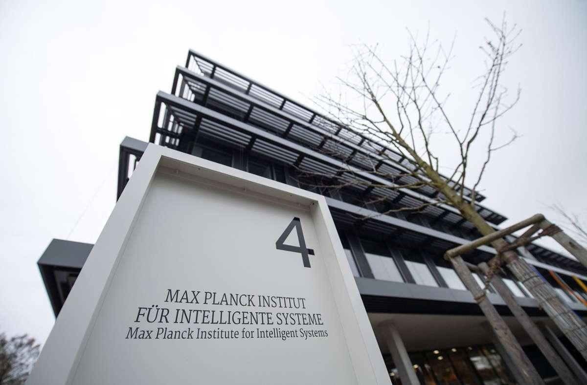 Das Max-Planck-Institut für Intelligente Systeme hat eine Schlüsselrolle bei der weiteren Entwicklung des Cyber Valley in Tübingen Foto: picture alliance/dpa/Sebastian Gollnow