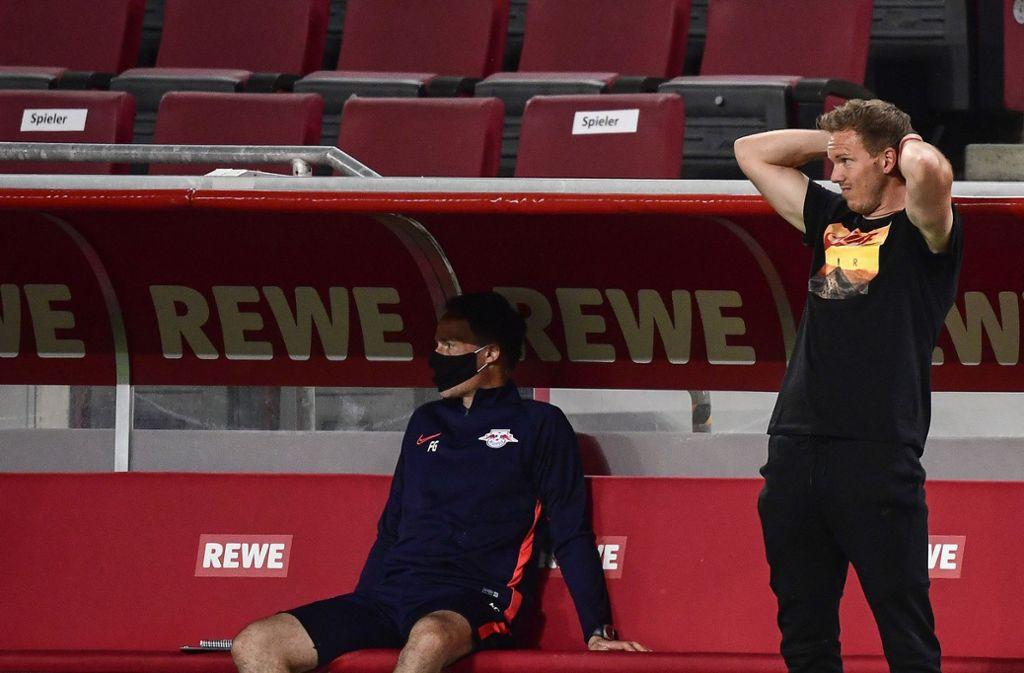 Julian Nagelsmann ist mit  RBLeipzig erfolgreich. Foto: AP/Ina Fassbender