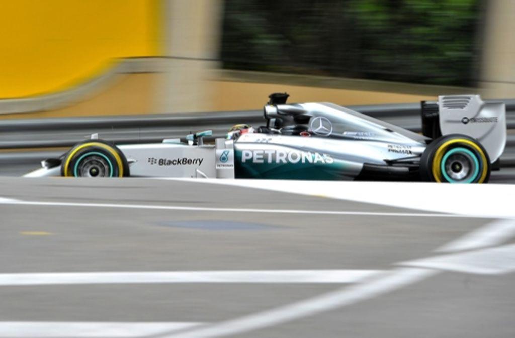 Das Formel-1-Team von Mercedes hat den Titelsponsor Petronas langfristig an sich gebunden. Foto: dpa