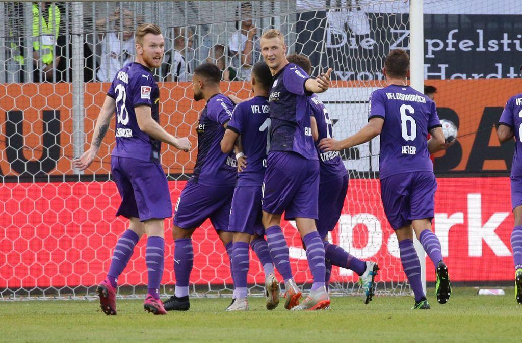 Der VfL Osnabrück trifft am Samstag auf den VfB Stuttgart. Foto: Pressefoto Baumann/Hansjürgen Britsch