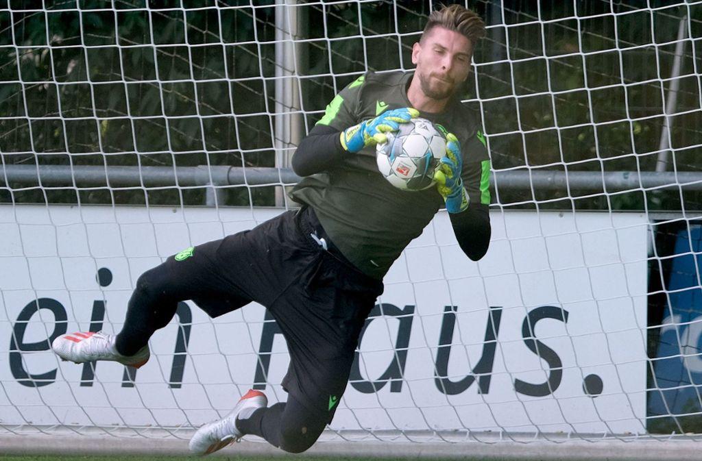 Ron-Robert Zieler fühlt sich in Hannover rundum wohl. Foto: dpa