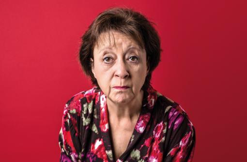 Theater-Autorin und Mundart-Darstellerin Monika Hirschle