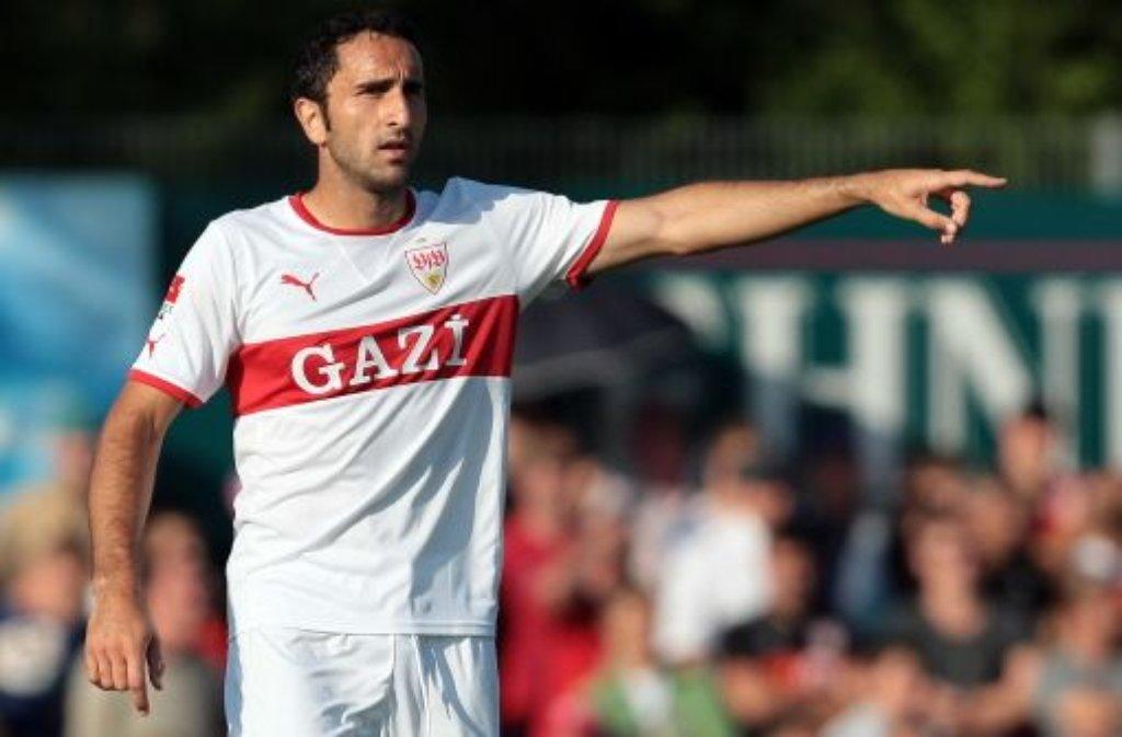 Cristian Molinaro schoss das 1:0 für den VfB gegen Sivasspor. Foto: Pressefoto Baumann (Archivfoto)