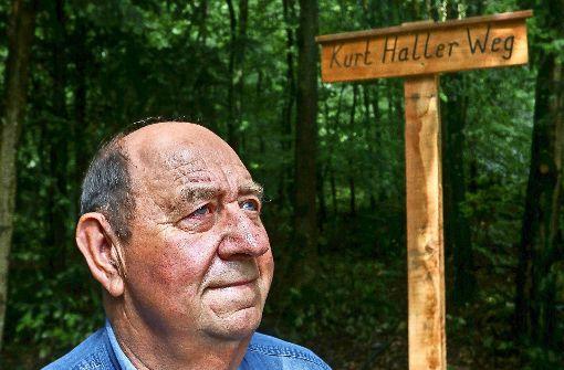 Ein Mann und seine Liebe zum Wald