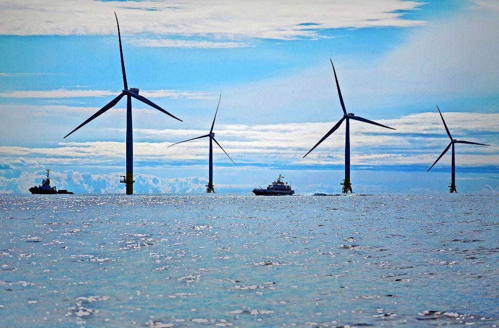 Der EnBW-Windpark Baltic 2 hat 2015 den Betrieb aufgenommen. Foto: dpa