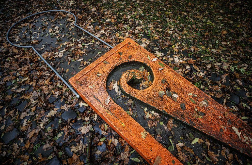 Die  Tage der alten Minigolfanlage in Waiblingen sind gezählt. Foto: Gottfried Stoppel