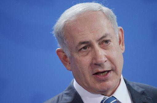 Regierungschef Netanjahu für Begnadigung von Soldaten