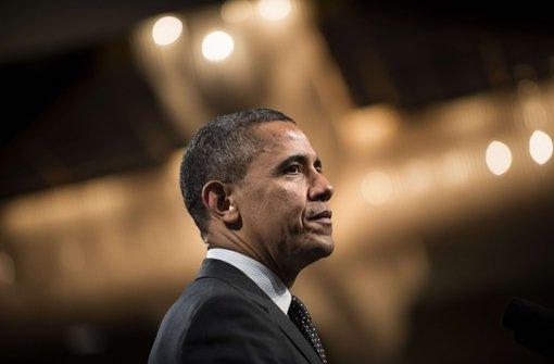 Der US-Präsident skizziert die künftige Politik des Landes. Foto: AFP