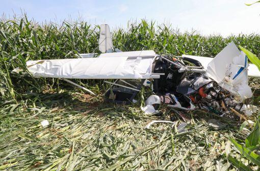 Neue Erkenntnisse zum Absturz mit Ultraleichtflugzeug
