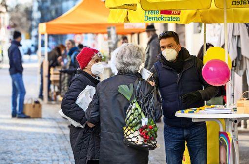Nur auf der Straße gibt's direkten Wählerkontakt
