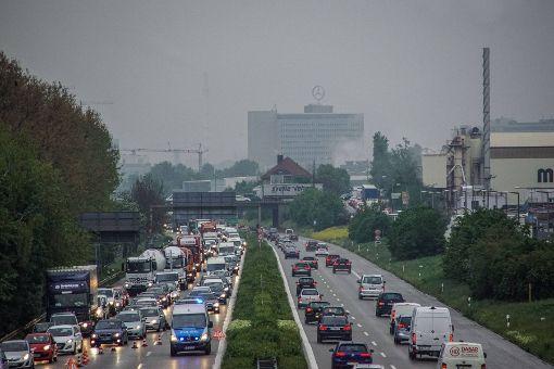 So war die Luft am Montag im Stadtbezirk Birkach
