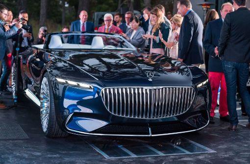 Daimler präsentiert Sechs-Meter-Luxusauto mit Elektroantrieb