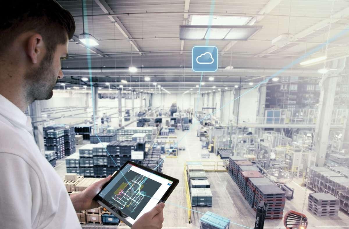 Die digitale Steuerung von Produktionsanlagen ist die Zukunft. Foto: Bosch