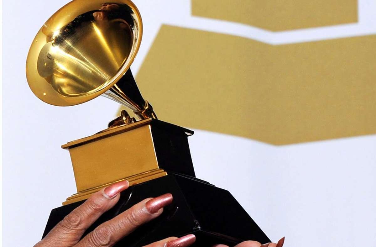 Dieses kleine Grammofon gilt als wichtigster Musikpreis der Welt: der Grammy. Foto: dpa/Paul Buck