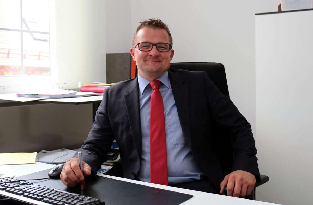 Stefan Wörner wird künftig im  Pfullinger Rathaus seinen Dienstsitz haben. Foto: Archiv