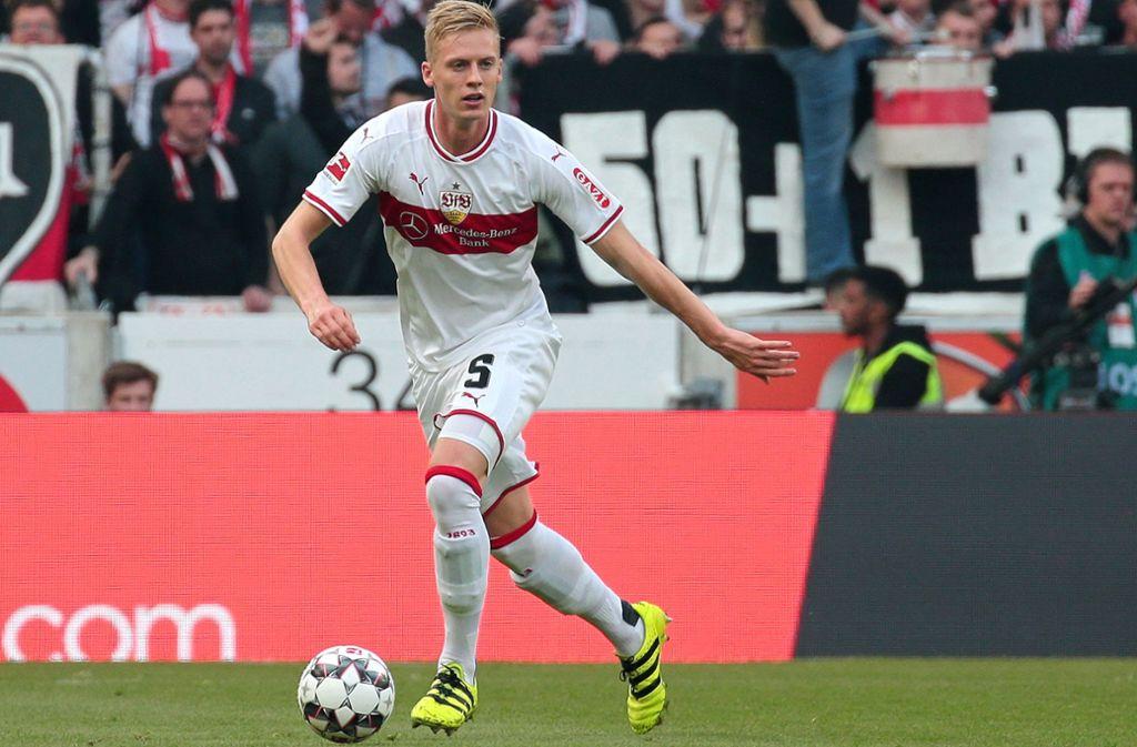 In der Regionalliga im Einsatz: Timo Baumgartl. Foto: Baumann