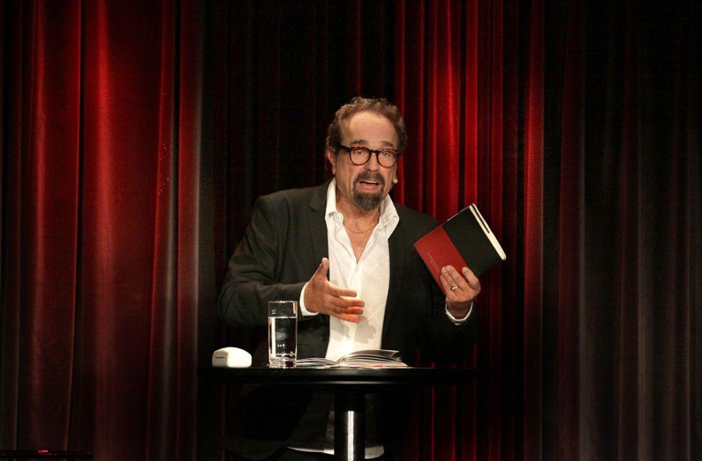 Sebastian Weingarten, Chef des Renitenztheaters Foto: Haymann/Renitenz