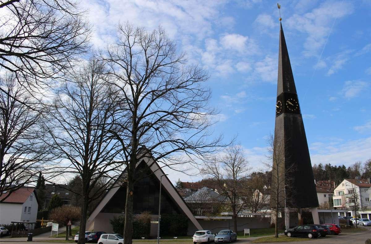 Die evangelische Kirche in Oberaichen Foto: Caroline Holowiecki