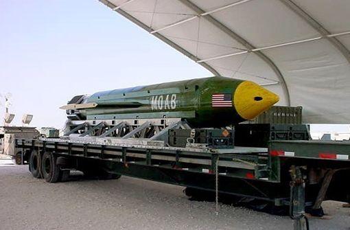 USA warfen stärkste nicht-atomare Bombe in Afghanistan ab