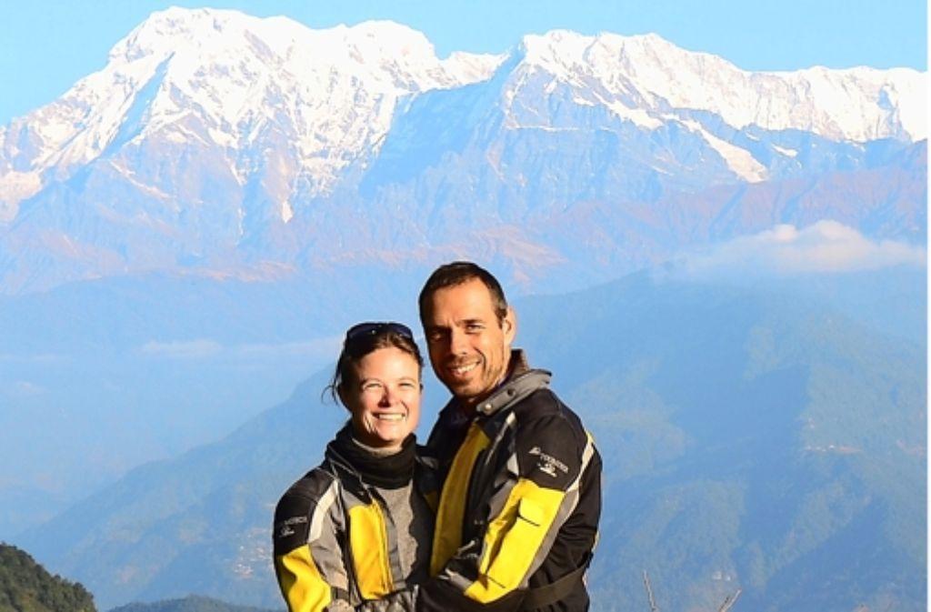 Heike und Filippo Fania haben auch den Himalaja bezwungen. Foto: Privat